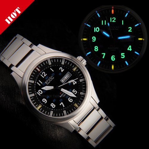 mens military style watch photo - 1