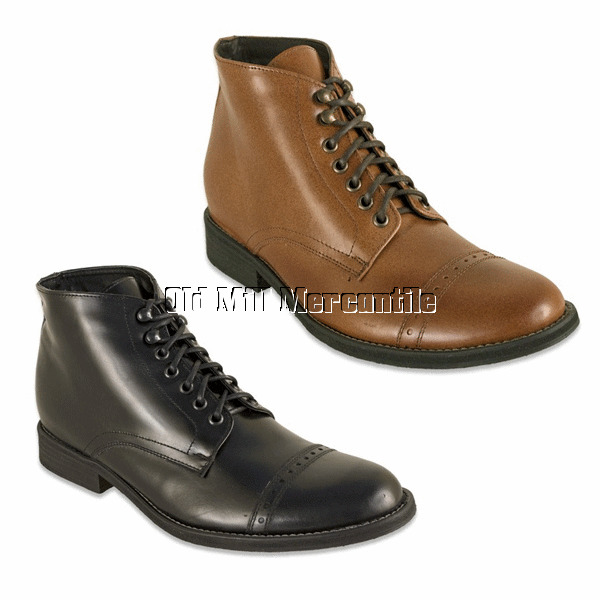 mens vintage style boots photo - 1