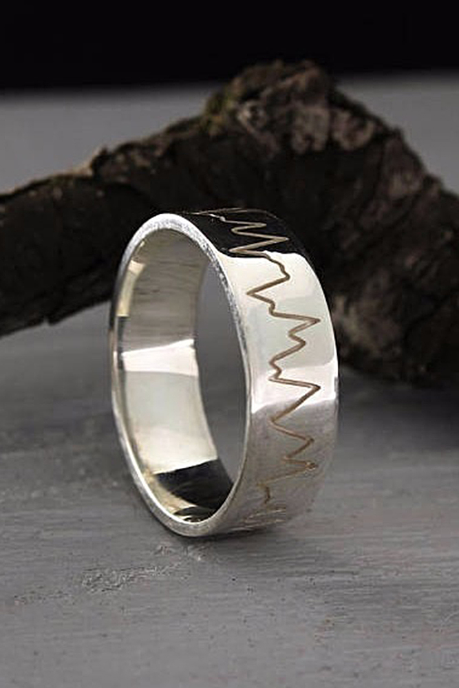 mens wedding band style photo - 1