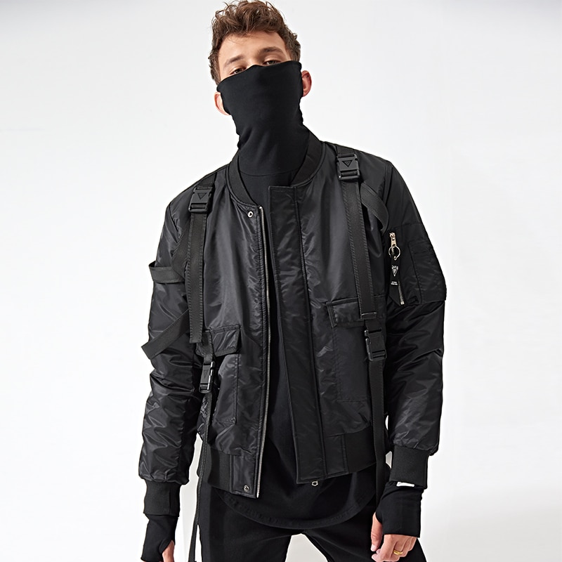 mens winter military style jackets photo - 1