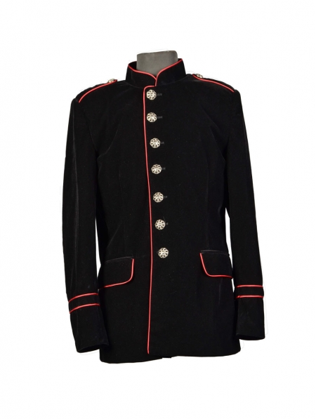military style blazer mens photo - 1