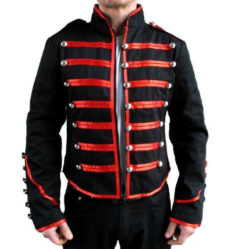 military style mens jackets photo - 1