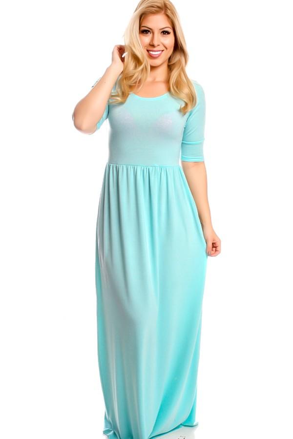 mint casual dress photo - 1