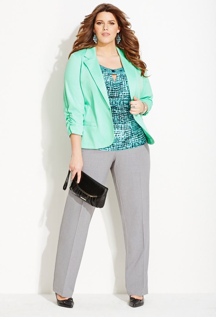 plus size business casual cheap photo - 1