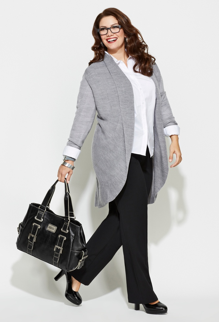 plus size business casual clothing photo - 1