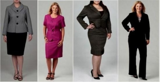 plus size business casual looks photo - 1