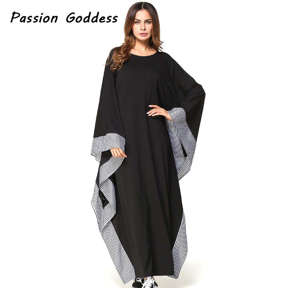 plus size casual black dress photo - 1