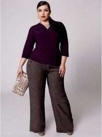 plus size womens business casual clothing photo - 1