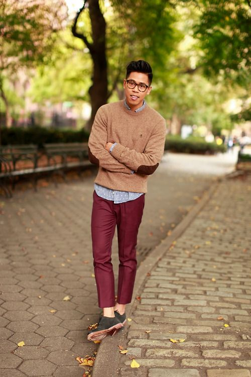 preppy mens style photo - 1