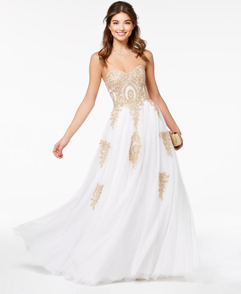 prom dresses from macys photo - 1
