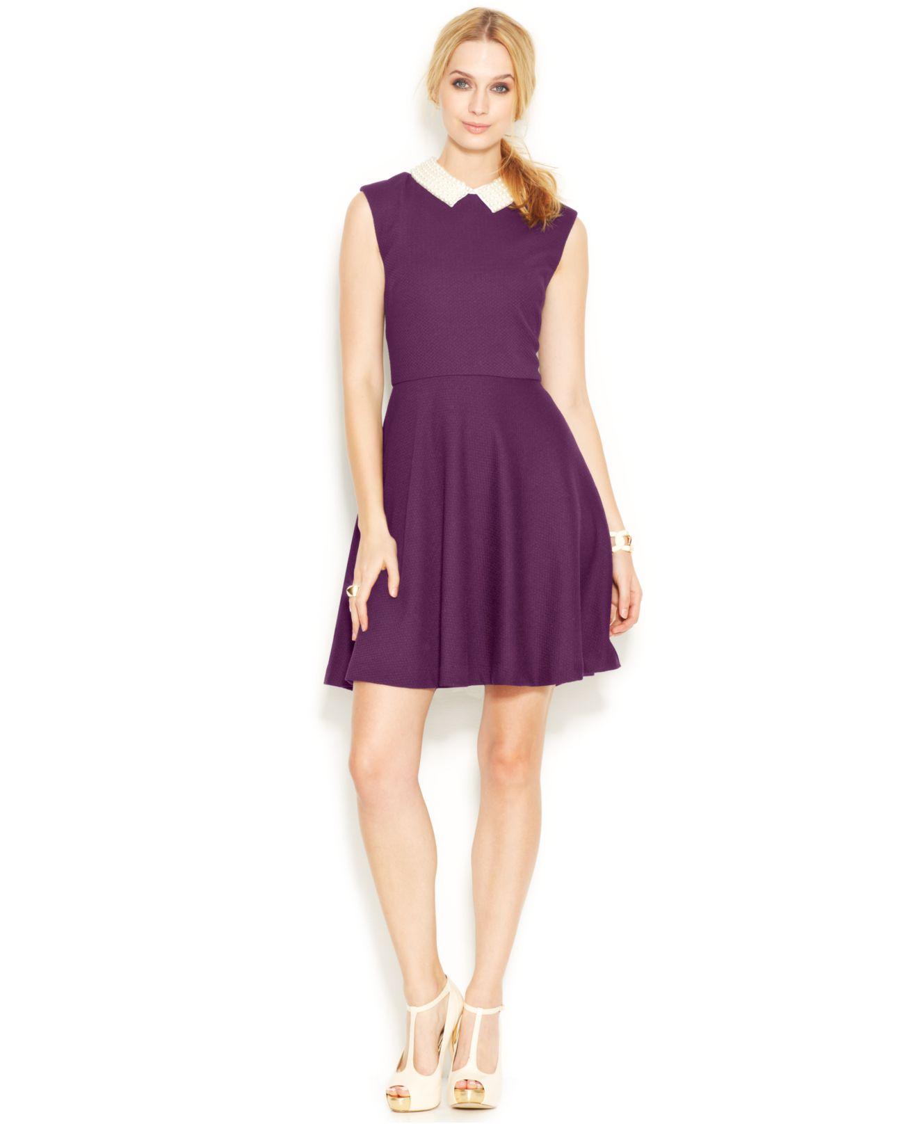 purple dresses macys photo - 1