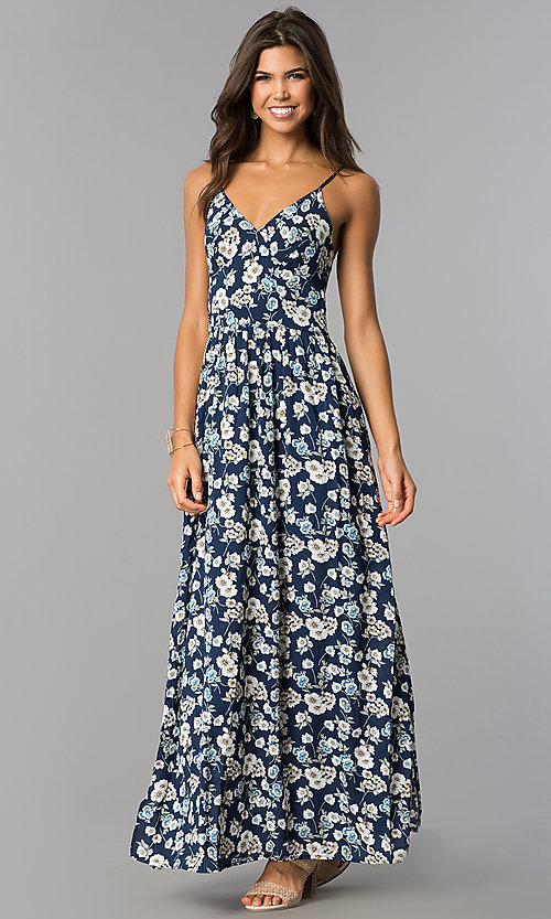 short front long back dress casual photo - 1