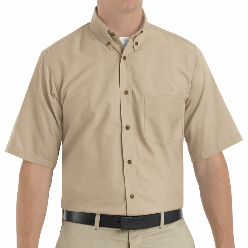 short sleeve button up business casual photo - 1