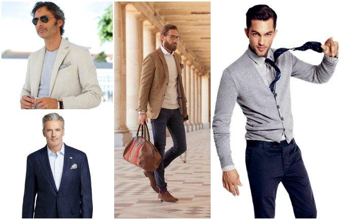 smart casual dress men photo - 1