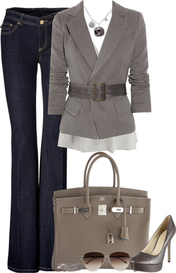 stylish business casual outfits photo - 1