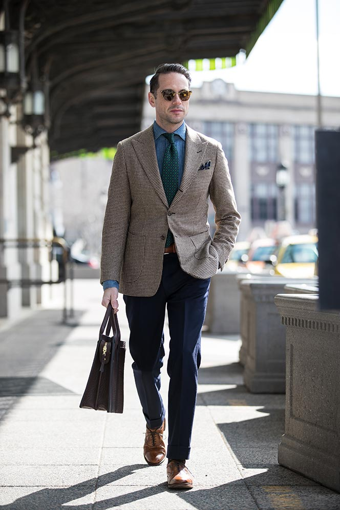 suit without tie business casual photo - 1