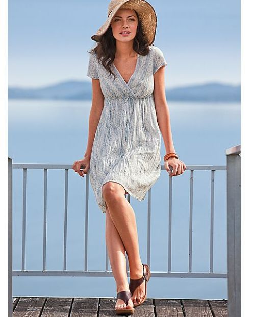 summer casual dress photo - 1