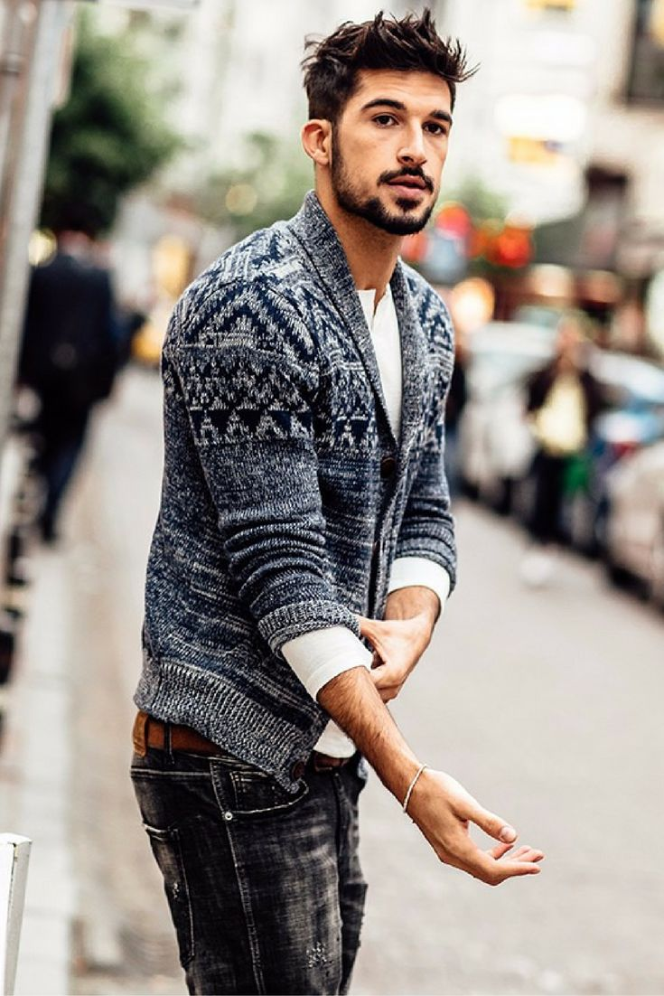 sweater mens style photo - 1