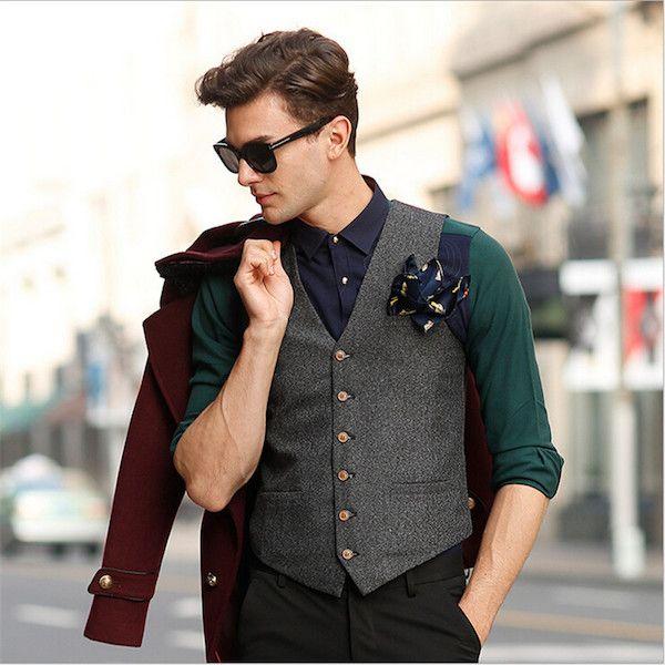 vest business casual photo - 1