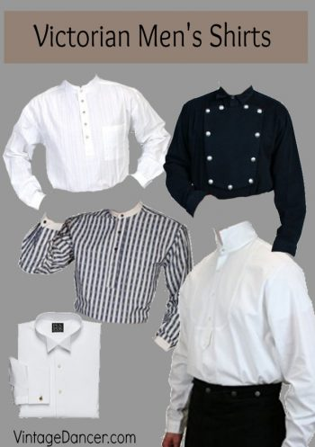 vintage style mens dress shirts photo - 1