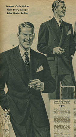 vintage style mens suits photo - 1