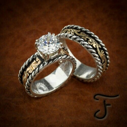western style mens rings photo - 1