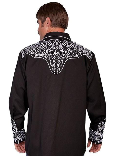 western style shirts mens photo - 1