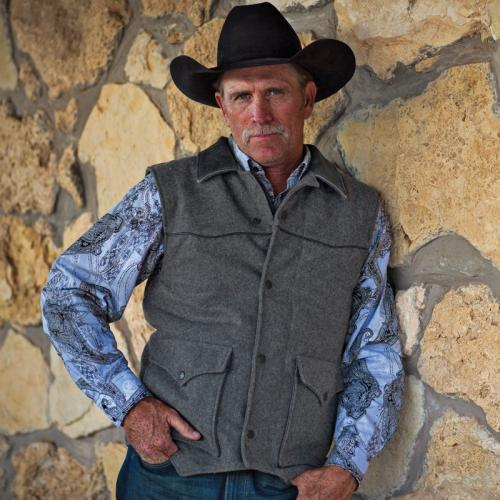 western style vest mens photo - 1