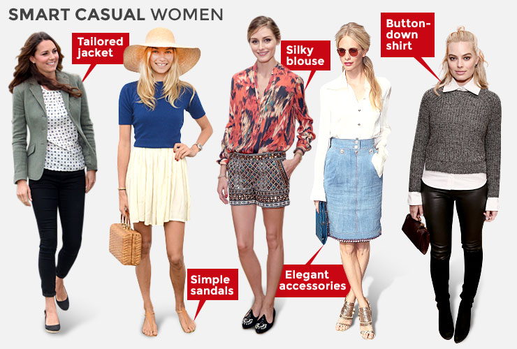 what does smart casual mean for a woman photo - 1
