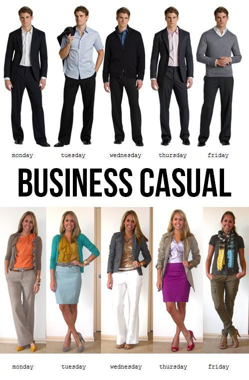 what is business casual clothing photo - 1