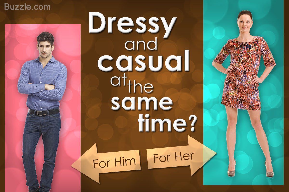 what is dressy casual attire photo - 1