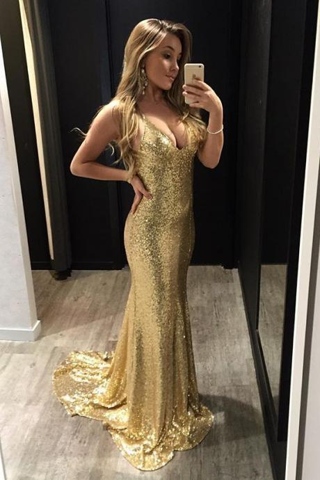 white and gold casual dress photo - 1