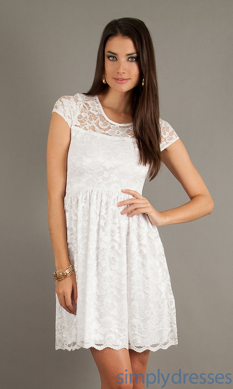 white dresses at macys photo - 1