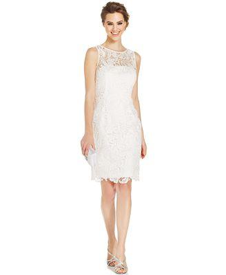 white dresses from macys photo - 1