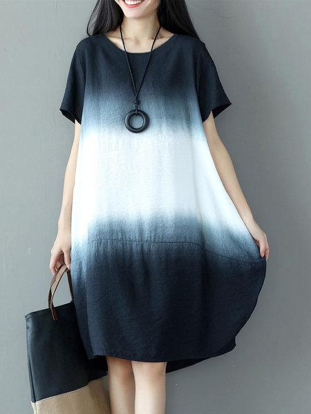 white short casual dress photo - 1