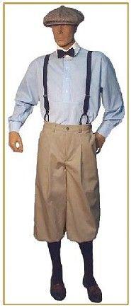 1920s style mens clothing photo - 1