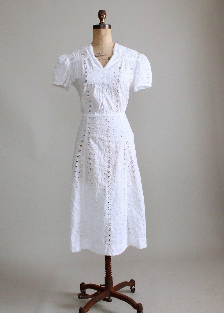 1940s casual dress photo - 1
