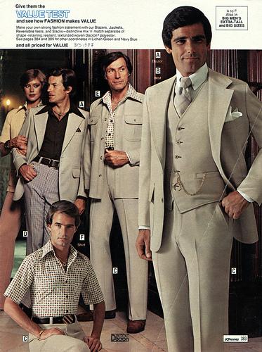 70s style mens shirts photo - 1