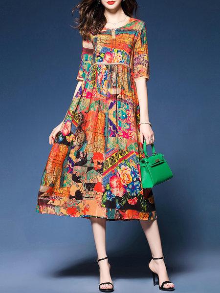 a line casual dress photo - 1