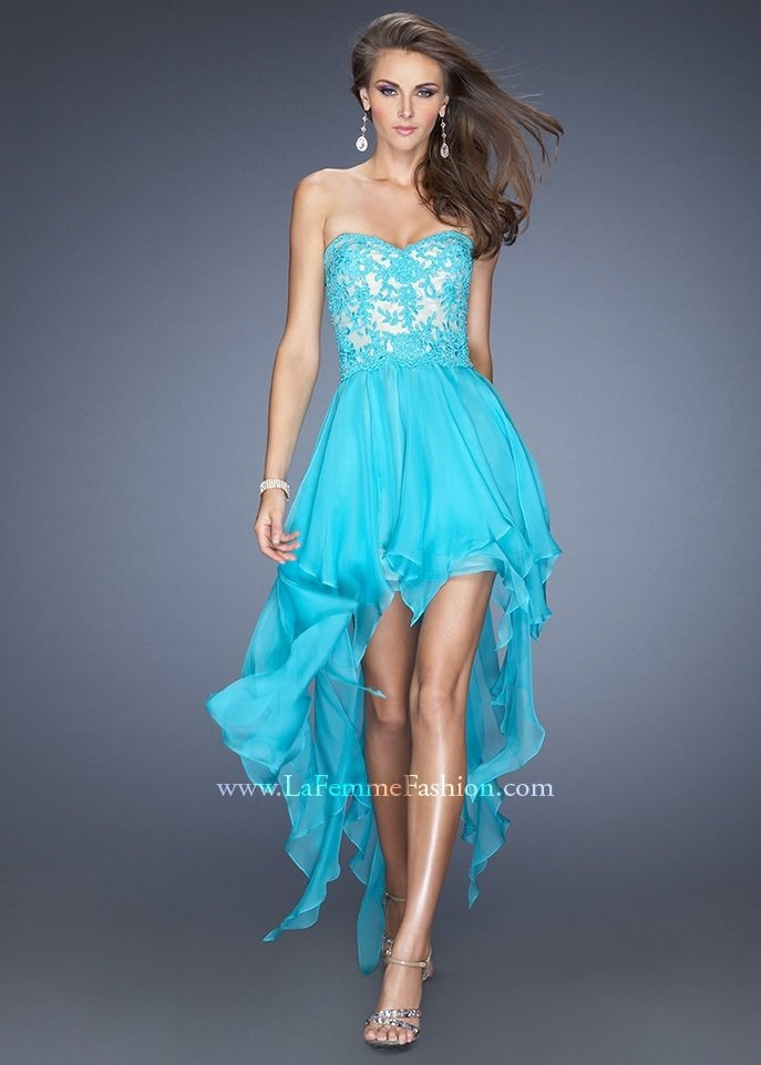 aqua casual dress photo - 1