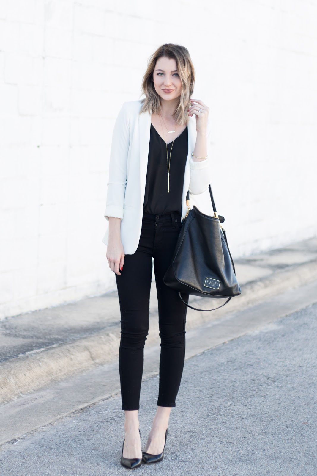 are skinny pants business casual photo - 1