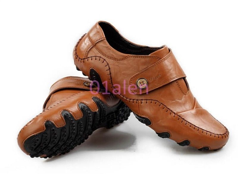 brown business casual shoes photo - 1