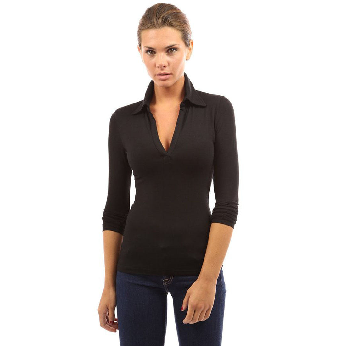 business casual blouses photo - 1