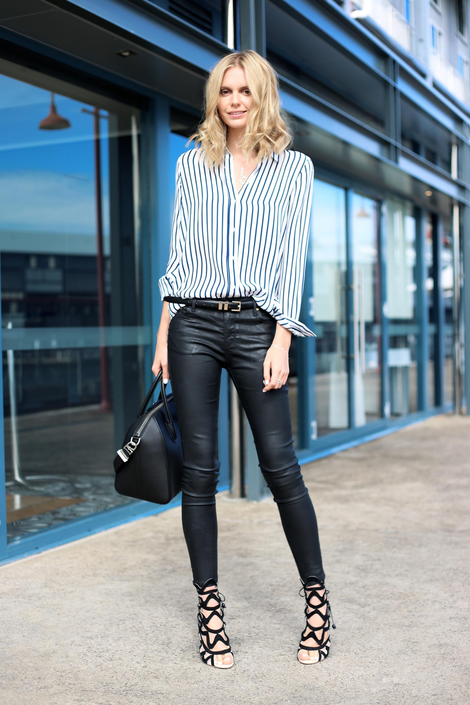business casual blue pants photo - 1