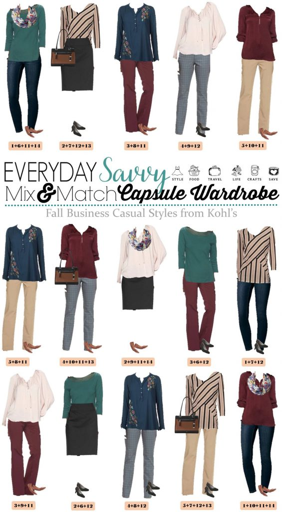 business casual capsule wardrobe 2017 photo - 1