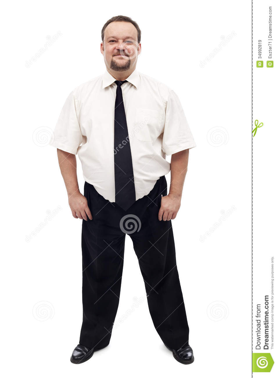 business casual fat men photo - 1
