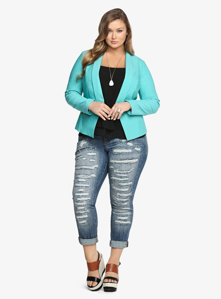 business casual for plus size women photo - 1