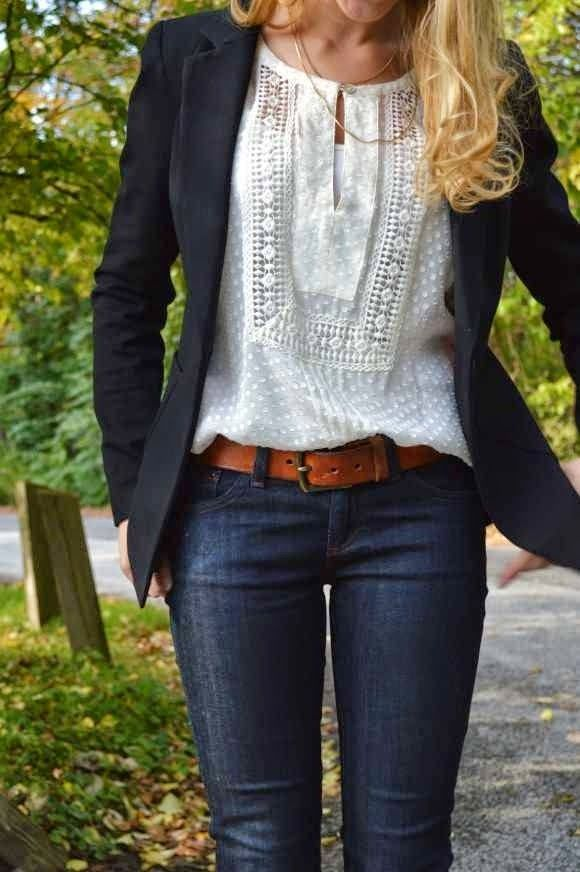 business casual jeans women photo - 1