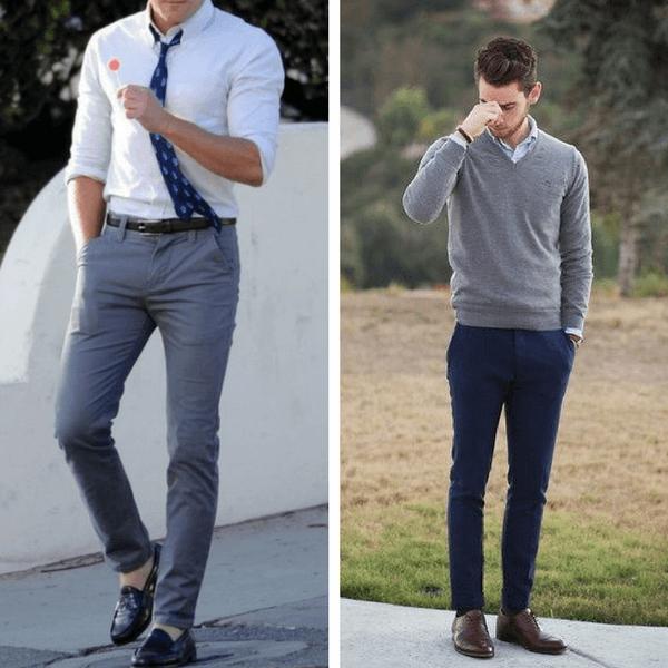 business casual men jeans photo - 1