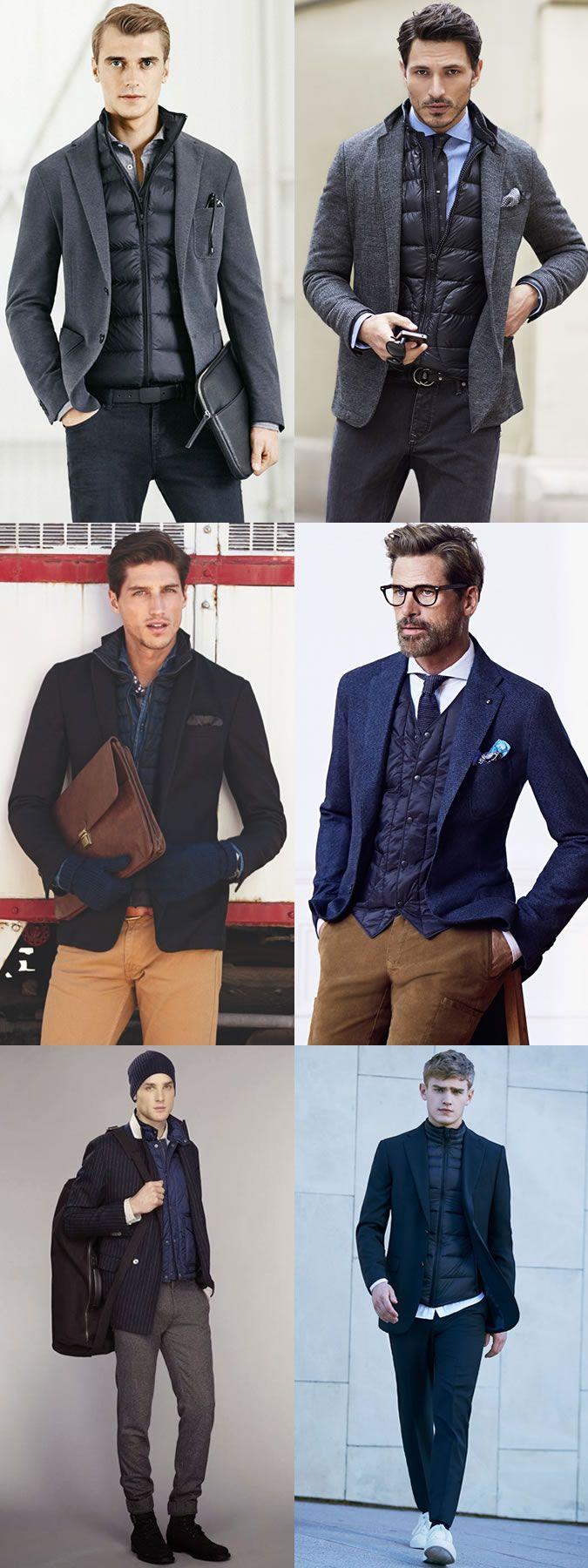 business casual men winter photo - 1